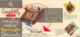 Machines De Bureaux Burroughs  Rue Ravenstein  Bruxelles - M