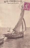 Yport 76 - Voilier Pêche - Cachet Yport 1935 - Yport