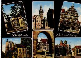 Schloss Richmond- Burglöwe Und Rathausturm- Gewndhaus- Multiview- Braunschweig
