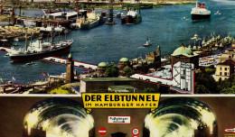 Der Elbtunnel Im Hamburger Hafen, Hamburg