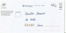 LETTRE DE RENVOI DE COURRIER  DU SERVICE RECHERCHE COURRIER LA POSTE DE LIBOURNE - Documents De La Poste