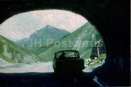 Cross Pass - The Georgian Military Road - 1968 - Georgia USSR - Unused - Géorgie