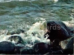 The Rough Sea - Vidzeme Seaside Views - Latvia USSR - Unused - Lettonie