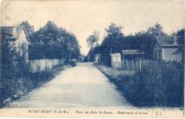 MITRY MORY Parc Du Bois St Denis Timbre Décollé - - Mitry Mory