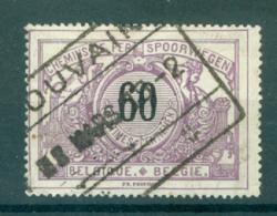 """BELGIE - OBP Nr TR 22 - Cachet  """"LOUVAIN"""" - (ref. AD-4366) - Chemins De Fer"""