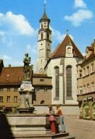 St. Anna Und Goldschmiedbrunnen - Augsburg