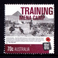 Australia 2014 World War I Centenary 70c TRAINING MENA CAMP Used - - - Used Stamps