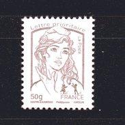 France N°  4771  50 G ( VF 1.25 )  Marianne De  La Jeunesse ( Ciappa) Lilas Brun - Neufs