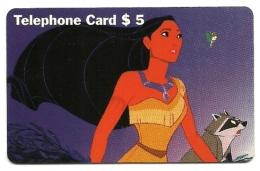 Stati Uniti - Tessera Telefonica Da 5 Dollars T49 - Walt Disney - Disney