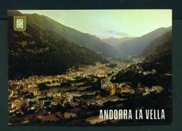 ANDORRA  -  Andorra La Vella  Used Postcard As Scans - Andorra