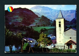 ANDORRA  -  Massana Church  Used Postcard As Scans - Andorra