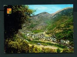 ANDORRA  -  Sant Julia De Loria  Used Postcard As Scans - Andorra