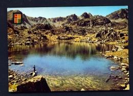 ANDORRA  -  Pessons Lake  Used Postcard As Scans - Andorra