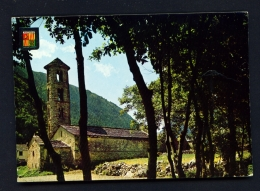 ANDORRA  -  Santa Coloma   Used Postcard As Scans - Andorra