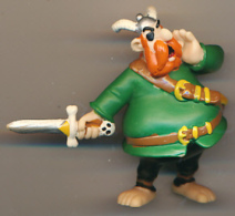 FIGURINE ASTERIX, PLASTOY (1997) : Barbe Rouge (2 Scans) - Asterix & Obelix