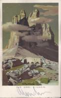 ILL. Poetzold LITHO 1906. Tre Cime Di Lavaredo Drei Zinnen - Ohne Zuordnung