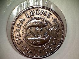 Sierra Leone 1/2 Cent 1964 TTB - UNC - Sierra Leona