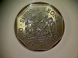 Sierra Leone 1 Leone 1987 TTB - Sierra Leone