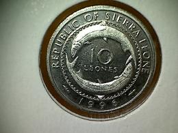 Sierra Leone 10 Leones 1996 TTB - Sierra Leone