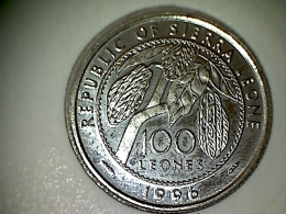 Sierra Leone 100 Leones 1996 TTB - Sierra Leone