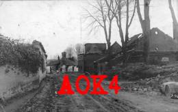 62 Brasserie RIR 94 Village Ruines Cagnicourt Riencourt Hendecourt Bullecourt Queant Cambrai Marquion 1917 - France