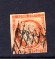 Cérès  40c Orange, N°  5 Oblitéré, Cote 500 €, - 1849-1850 Ceres