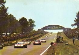 LE MANS (Sarthe) - Circuit Des 24 Heures, La Descente Du Panorama. - Le Mans