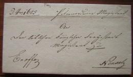 Neusatz, Jolie Lettre De 1845 à Identifier... Avis Aux Spécialistes ! (voir Photo) - [1] Prephilately