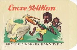 Enveloppe Publicitaire Superbement Illustrée ENCRE PELIKAN * GÜNTHER WAGNER, HANNOVER - Publicités