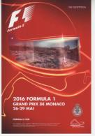 Grand Prix Formule 1 2016 Monaco Monte Carlo - Unclassified