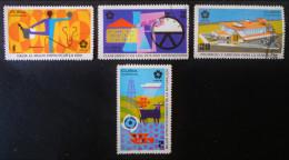 EXPOSITION UNIVERSELLE D'OSAKA 1970 - OBLITERES - YT E1390/92 + 1694 - MI 1579/81 + 1585 - Used Stamps