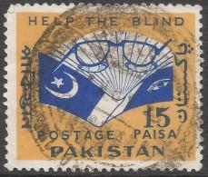 Pakistan. 1965 Blind Welfare. 15p Used. SG 220 - Pakistan