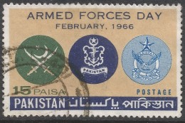 Pakistan. 1966 Armed Forces Day. 15p Used. SG 229 - Pakistan