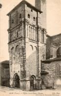 - 81 - ALBI (Tarn). - Eglise Saint-Salvi.  Clocher. - - Albi