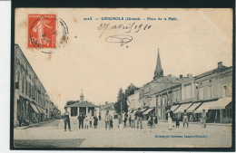 GRIGNOLS - Place De La Halle - France