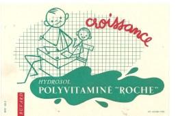 Buvard Hydrosol POLYVITAMINE ROCHE Croissance - Droguerías