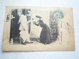 PERSONNAGES DE THEATRE 1905 CIRCULE DOS SIMPLE - Humor