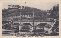 10460-LOMBARDORE(TORINO)-PONTE SUL TORRENTE MALONE-1925-FP - Altre Città