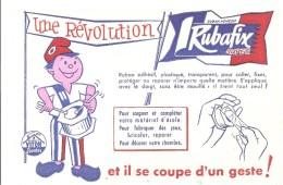 Buvard RUBAFIX Super Une Révolution Il Se Coupe D'un Geste! - Papeterie