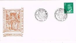 17981. Carta Exposicion Filatelica MUROS (Coruña) 1982 - 1931-Hoy: 2ª República - ... Juan Carlos I