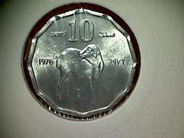 Somalia 10 Senti 1976 - Somalie