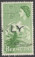 Bermuda. 1953-62 QEII. 1½d Used. SG 137 - Bermuda