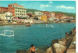 Lavagna (Genova) Veduta Dal Molo E Campo Pallanuoto, View From The Quay, Vue Du Quai, Ansicht Von Hafendamm Gesehen - Italia
