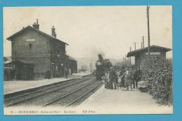 CPA 85 - Chemin De Fer Arrivée Du Train En Gare BONNIERES 78 - Bonnieres Sur Seine