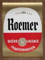 Rare Ancienne Affiche Brasserie ROEMER Pfaffenhoffen Bière D' Alsace - Autres Collections