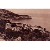 BLARSTP3215-LFTD6556.Tarjeta Postal De BALEARES.Casas,arboles,mar Y VISTAS DE LLUCALCARI- DEYÁ En  MALLORCA - Mallorca