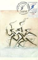 ALBERTVILLE .8 FEV 1992 (CARTE 1ER JOUR )(PHILATELIE) - Albertville