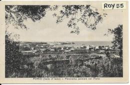 Campania-napoli-forio Veduta Panorama Parziale Col Porto Anni/30 - Italia