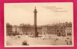 75 PARIS, Cie L'Union-Incendie, Place Vendôme, Animée - Arrondissement: 01