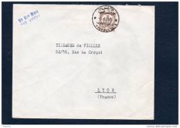 MARCOPHILIE-lettre LIBYE-KINGDOM OF LIBYA>Françe-cad Tripolitania-1956 Bel Affranchissement- - Libya